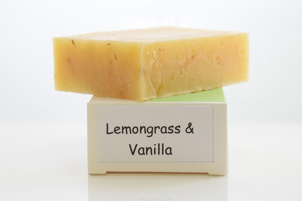 Picture of Lemongrass Vanilla Soap Bar
